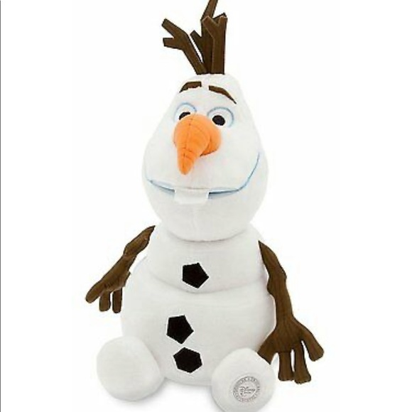 """Nwt Disney Collection Frozen 15/"""" Olaf Plush Snowman From Disney Collection"""